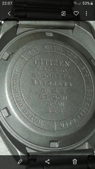 Citizen Chifrudinho Bullhead 8110