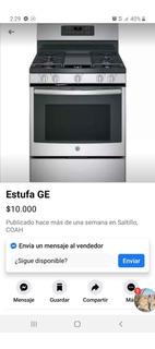 Estufa Ge Adora 5.0 Nueva