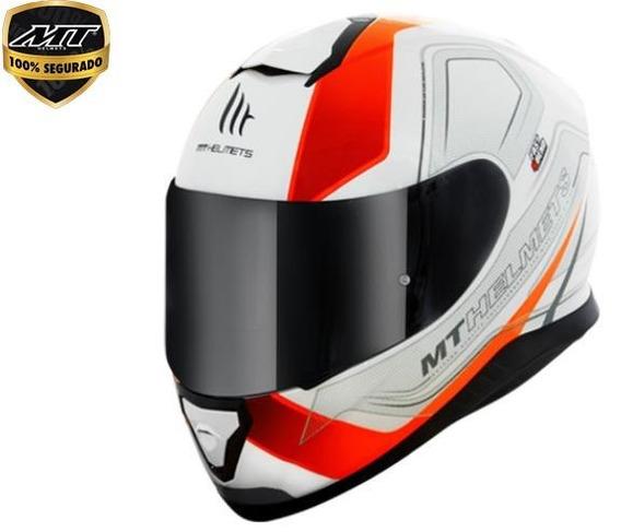 Capacete Mt Thunder 3 Trace Modelo Novo 2018 Lançamento
