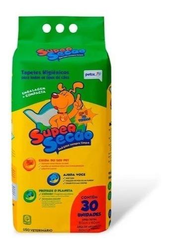 Super Secão Tapete Higiênico Para Cachorro Pet Filhote 30 Un