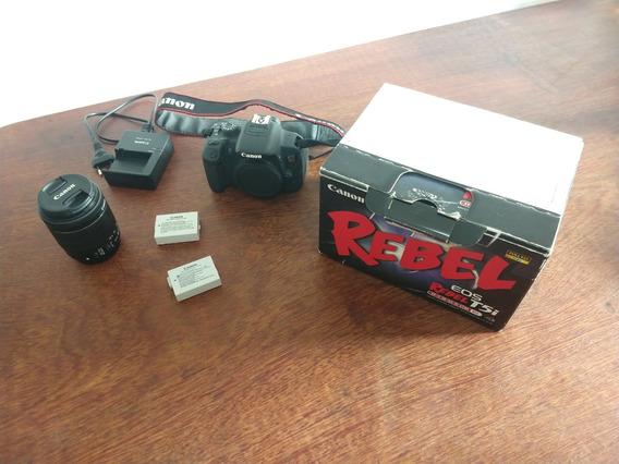 Câmera T5i - Canon Pouco Usada Sem Juros