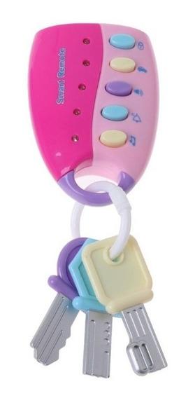 Smart Remote Llavero + Llaves Con Luz Y Sonido Para Bebés