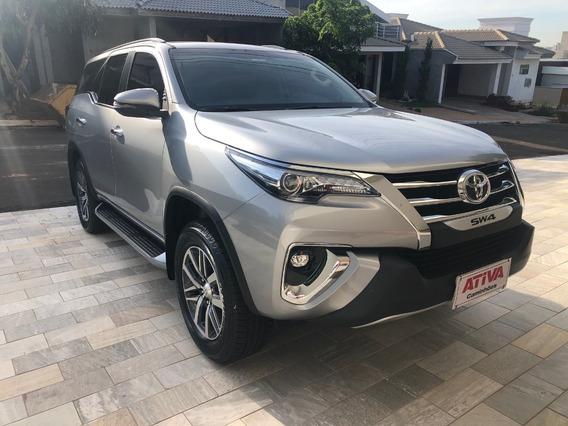 Toyota Hilux Sw4 2019/2020 Prata Top - Ativa Caminhões