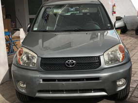 Toyota Rav4 2004 Vagoneta Limited Piel At