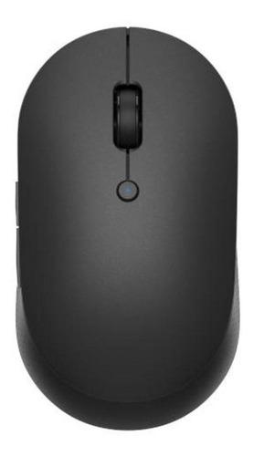 Imagen 1 de 2 de Mouse inalámbrico Xiaomi  Mi Dual Mode Wireless Silent Edition WXSMSBMW02 negro
