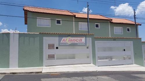 Sobrado Com 2 Dormitórios À Venda, 66 M² Por R$ 360.000 - Vila Curuçá - São Paulo/sp - Ai10196