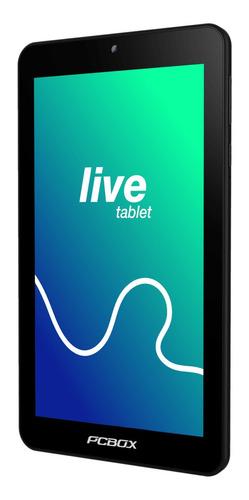 "Tablet  Pcbox PCB-T732 7"" 16GB negra con 1GB de memoria RAM"