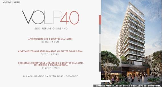 Lançamento Em Botafogo - Volp 40 Ao Lado Do Metro E Do Praia