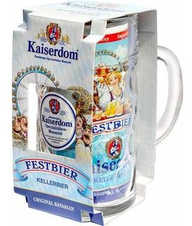 Estuche Cerveza Kaiserdom + Chop Litro