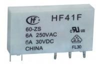 Rele De Interface Slim Miniatura Hf41f 24-zs 10 Pçs