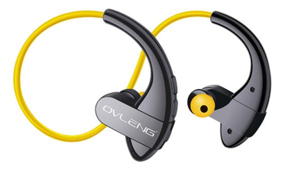 Ovleng S13 Auriculares Sem Fios Bluetooth Amarelo