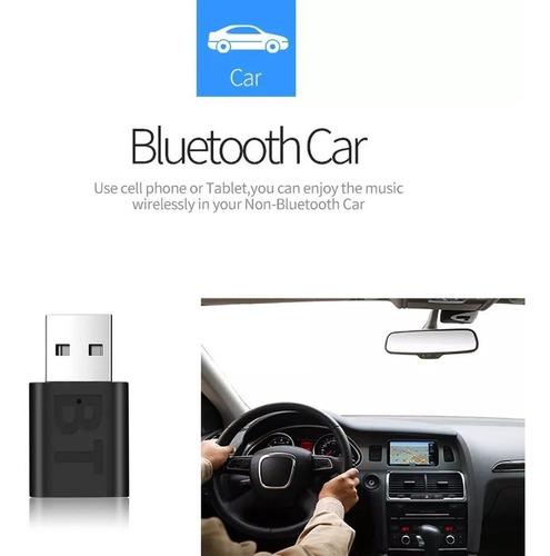 Receptor Bluetooth Usb V5.0 Para Pc, Carros O Altavoz