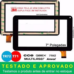 Tela Touch Tablet Cce Tr72 Tr72p Kids Motion Original + 3m
