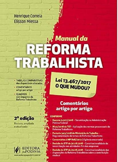 Manual Da Reforma Trabalhista - Juspodivm