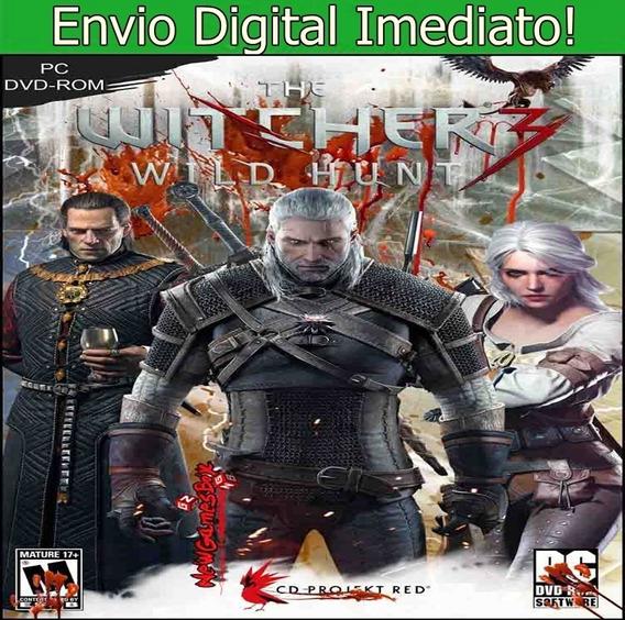 The Witcher 3 Wild Hunt Complete Pc Hd Envio Imediato!