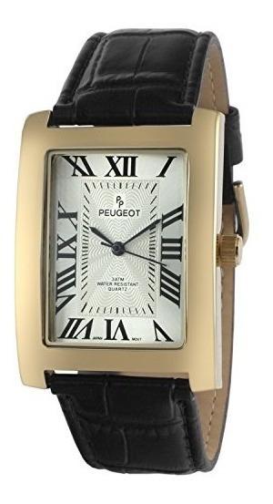 Reloj De Hombre Y Metal De Cuarzo Vintage Rectangular P
