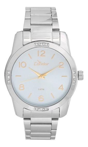 Relógio Condor Feminino Analógico Prata Co2035koj/3z