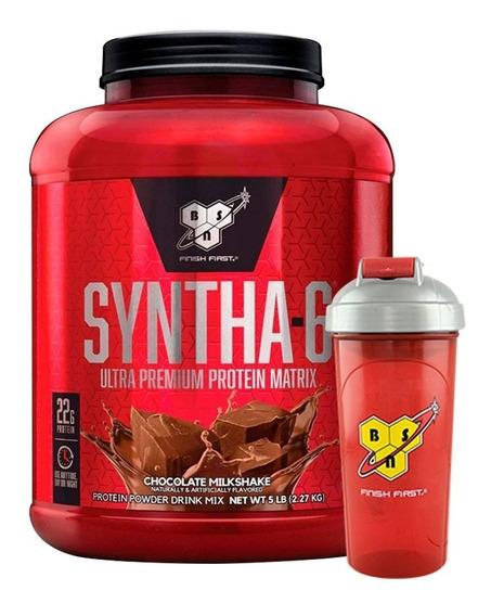 Syntha 6 Bsn X 5 Lb + Vaso Mezclador Suplemento Proteina