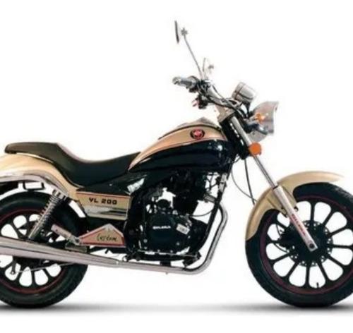 Gilera  Yl 200 Custon Moto Baires  Entrega Inmediata