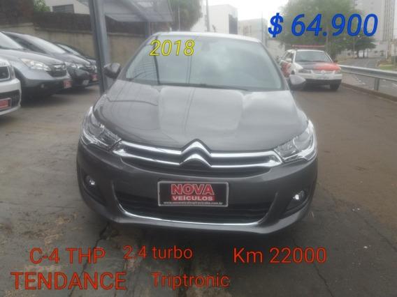 Citroën C4 1.6 Thp Tendance Flex Aut. 4p 2018