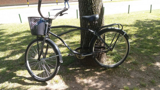 Bicicleta Playera Negra Rod 26