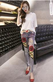 Pantalon Vintage Floral