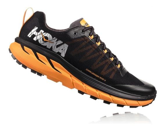 Zapatos Hoka Al Aire Libre Sky Toa Negro Gris Hombres