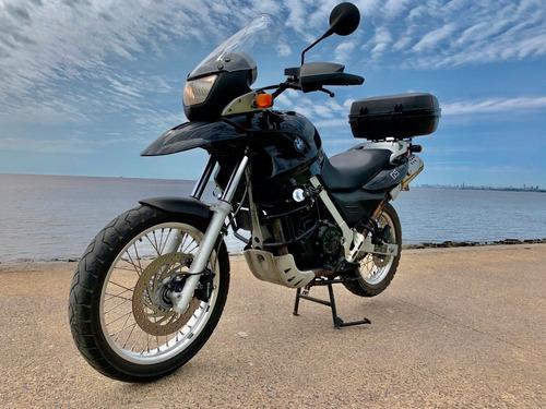 Bmw G650 Gs - Negra Con Accesorios - Impecable !