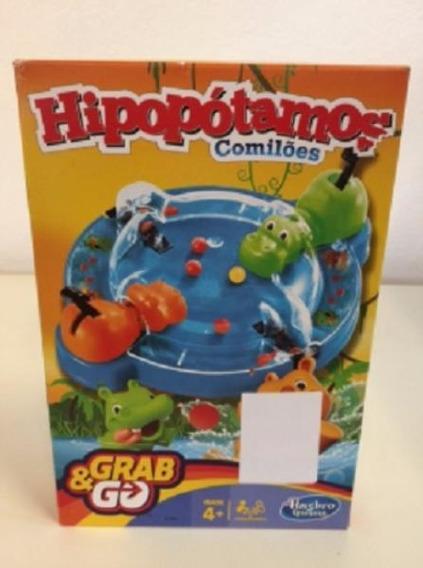 Brinq Jogo Hipopótamos Comilões Grab & G