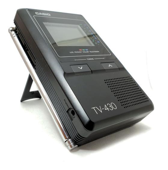 Mini Tv Casio Modelo Tv-430 Anos 80/90 *não Liga*