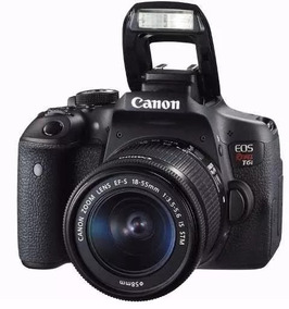 Camera Canon Eos Rebel T6i Dslr Ef-s Kit T6i 18/55