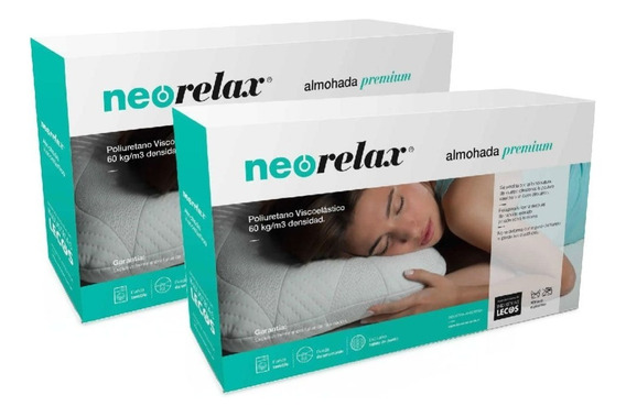 2x1 Almohada Neo Relax Visco Full