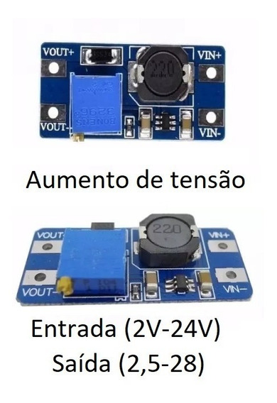 Conversor Regulador Step Up - Aumento Tensão - Londrina Pr