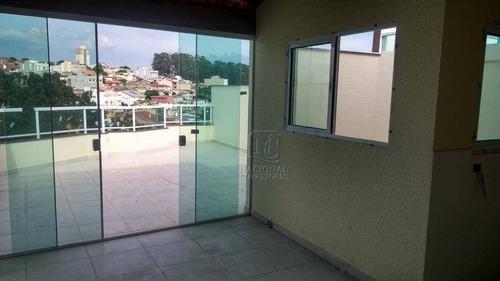 Cobertura Com 2 Dormitórios À Venda, 96 M² Por R$ 315.000 - Parque Oratório - Santo André/sp - Co1658