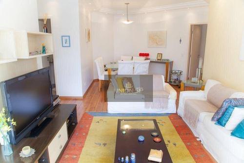 Apartamento Com 3 Dormitórios À Venda, 105 M² Por R$ 1.272.000,00 - Brooklin - São Paulo/sp - Ap38665