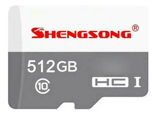Micro Sd Tarjeta Memoria Shengsong 512gb (stock En Mexico)