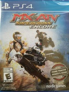 Mx Vs Atv Supercross Encore Edition Ps4 Delivery Stock Ya