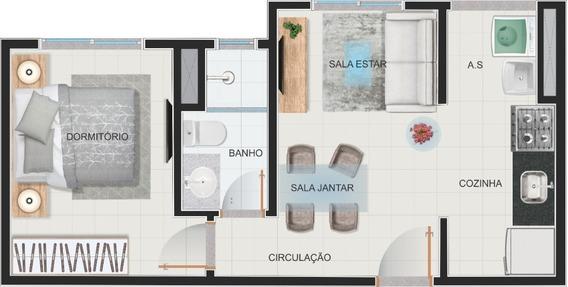 Apartamento 1 Dorm - Minha Casa Minha Vida