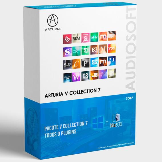 Arturia V Collection 7 Completo Win / Mac + Suporte
