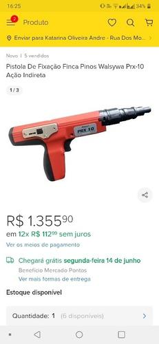 Pistola De Fixasacao Finca Pino. Valor 700reais Cuida.