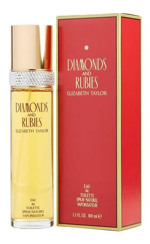Perfume Diamantes Y Rubies Elizabeth Taylor Mujer 100ml