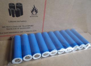 Baterías Recargables De Litio Lg 18650 3.7v