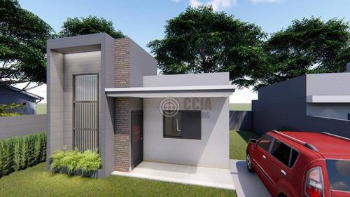 Casa Com 3 Dormitórios À Venda, 64 M² Por R$ 250.000,00 - Jardim Alvorada - Foz Do Iguaçu/pr - Ca0593