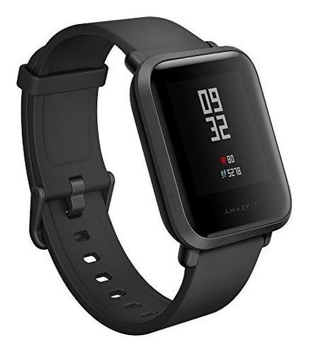 Imagen 1 de 4 de Amazfit A1608b Bip Smartwatch Negro Onix