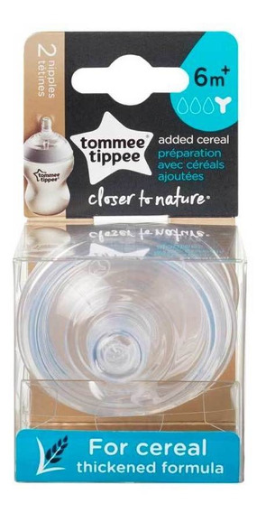 Tetina Tommee Tippee Closer To Nature Para Cereales X2