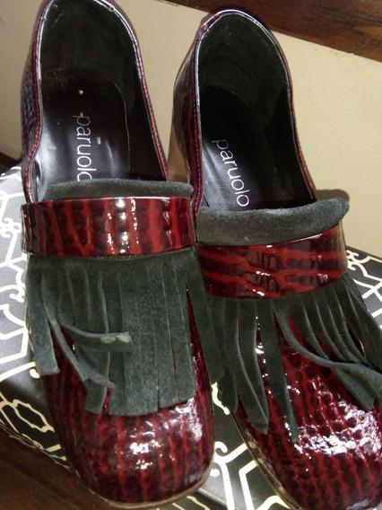 Zapato Cuero Charol