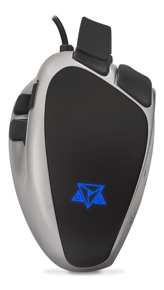 Mouse Gamer Adamantiun Weapon X 1ms Led Rgb Pegada Ajustável