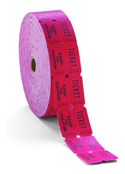 Rollo De 2000 Tickets Boletos Fiesta Evento Entradas Sorteo