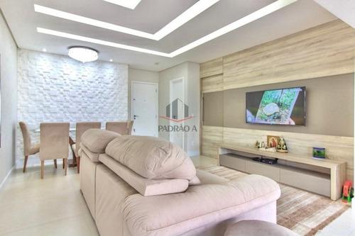 Imagem 1 de 10 de Apartamento Em Condomínio Padrão Para Venda No Tatuapé, 3 Dorm, 1 Suíte, 2 Vagas, 123 M², Lindo Apartamento, Com Varanda Gourmet Ampliada, Andar Alto. - 1822