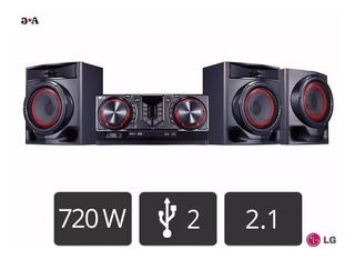 Equipo De Sonido Lg Cj45 Bluetooth 720 Watts Sellado